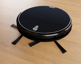 3D model cleaning robot