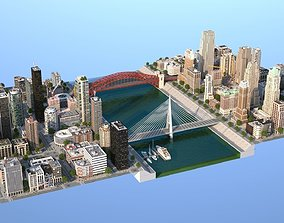 River City 3D asset