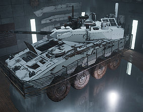 3D model Custom Military Vehicles - Truck Armored - Part 3
