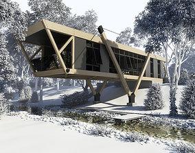 3D Amazing Constructivism style house