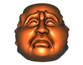 Maitreya head 3D printable model