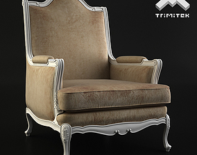 Classic Armchair - Moses - Beige 3D model