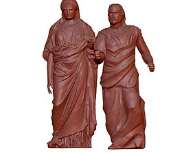 Mausoleum and Artemisia 3D printable model