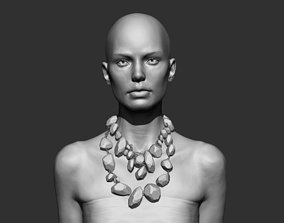 printable 3D printable model Woman Bust