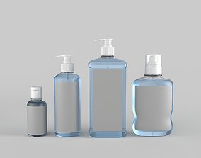 Sanitizer Bottle 3D model medicine