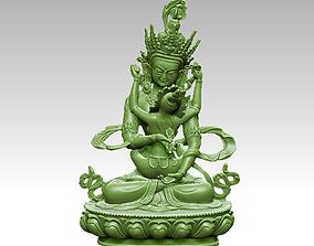 Tibetan Buddha sculpture 3D printable model
