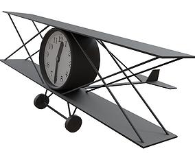 3D model Alarm Clock Plane