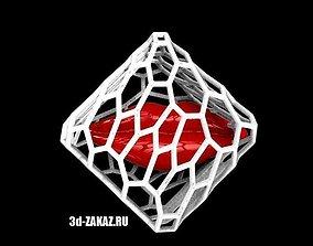 Glitter unavailable style Voronoi 3D print model