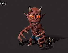 Small Daemon 3D model