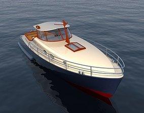 watercraft yacht motor 3D model