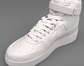 3D Air Force 1 Nike PBR