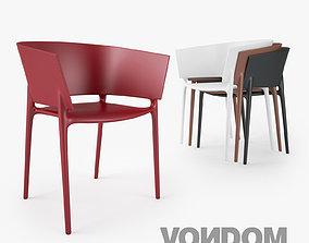 Vondom Africa Silla Chair 3D model