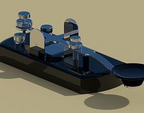 Morse Code Transmitter 3D model