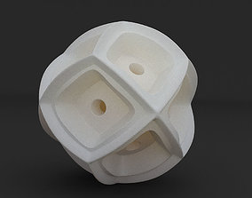 Math Object 0058 - Futuristic Sphere 3D print model
