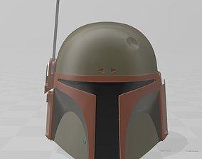 Star Wars Boba Fett Helmet Return of 3D printable model 4