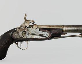 rarity OLD GUN 3D model