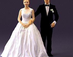 Wedding dress 0556 3D Print Ready