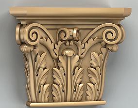 3D model Column capital 008