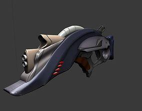 BowRx Scifi Assault Rifle 3D