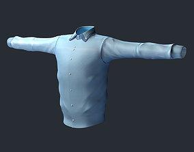 Shirt Men 3D model