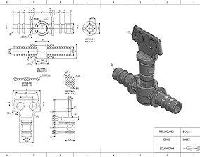 3D printable model Drip irrigation valve