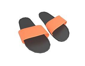 3D asset Flip Flops v4 011