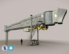 3D asset Airbridge LFPG