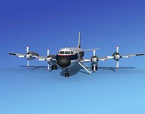Lockheed L-188 Electra HP MAC 3D
