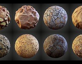 Stylized Great Desert Materials 3D
