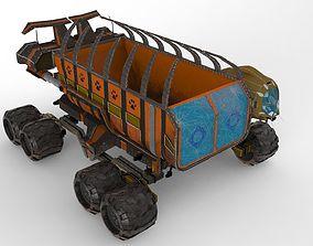 Tusker Dumper 3D asset