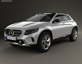 3D model Mercedes-Benz GLA-class concept 2013