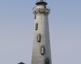 Lighthouse 3D model PBR