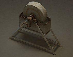 3D asset Industrial Era - Knife Grinder