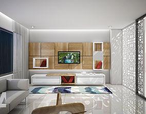 Living Area by DA 3D model