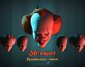 Pennywise mask 3D-Printable