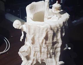 3D print model Zombie Dice Tower