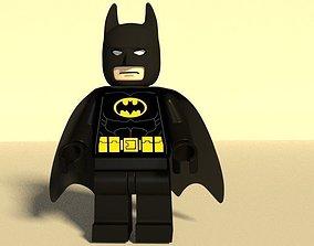 3D asset Lego Batman minifig