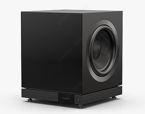 3D model Bowers and Wilkins DB2D Gloss Black