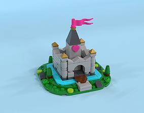 LEGO Micro Fairy Tale Castle 3D model