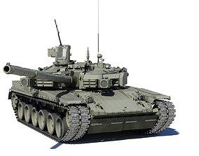 T-84BM Oplot 3D model animated