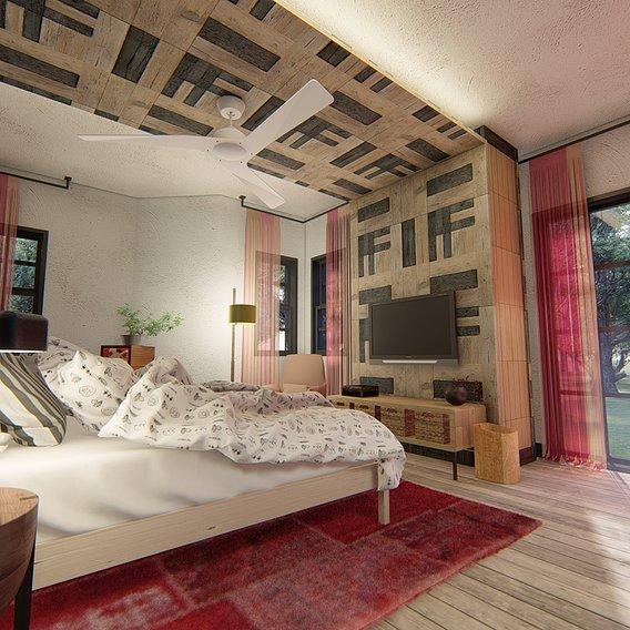Senegal Hotel room