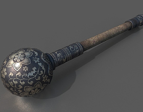 Mongolian Iron Mace 3D model