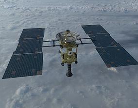 3D asset Hayabusa Satellite