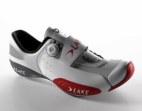 Lake CX401 Bicycle Shoe 3D model