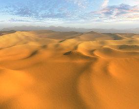 3D asset VR / AR ready desert