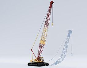 3D model Crawler crane