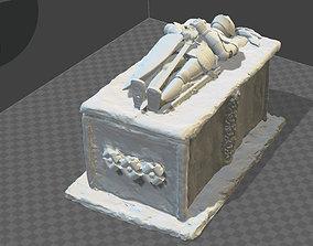 3D print model ANCIENT MEDIEVAL GRAVE SHAPED BOX