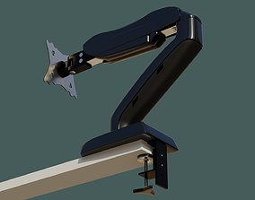 3D model Lowpoly Monitor Arm