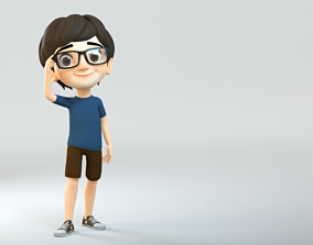 JJ Rig 3D model