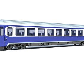 Passenger Car 9 3D model